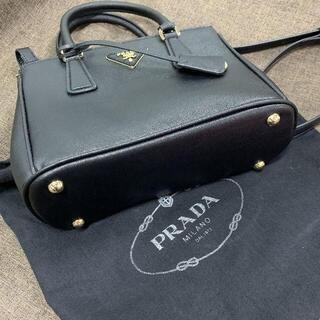 プラダ(PRADA)のサフィアーノ ハンドバッグ 黒(ハンドバッグ)