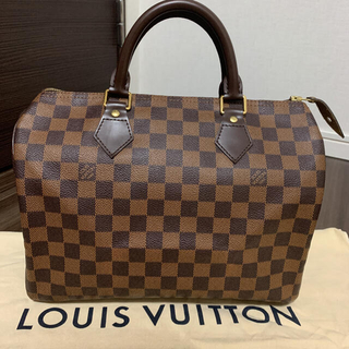 LOUIS VUITTON - ルイヴィトン  スピーディ30 ダミエ