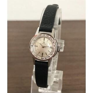 OMEGA - OMEGA オメガ カットガラス手巻き時計