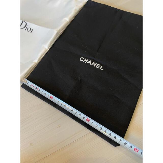 CHANEL(シャネル)のノベルティ 巾着 ポーチ シャネル ディオール Dior CHANEL エンタメ/ホビーのコレクション(ノベルティグッズ)の商品写真