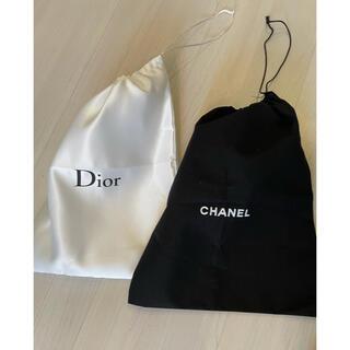 CHANEL - ノベルティ 巾着 ポーチ シャネル ディオール Dior CHANEL