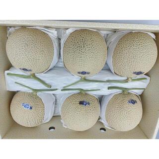 静岡県産 クラウンメロン 白等級 5-6玉 約9kg(フルーツ)