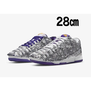 """NIKE - NIKE WMNS DUNK LOW """"MADE YOU LOOK"""" 28㎝"""