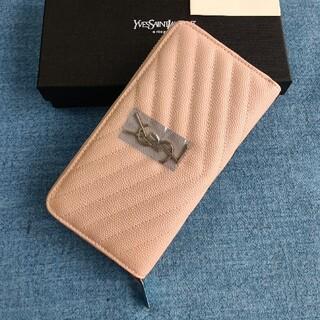 イヴサンローランボーテ(Yves Saint Laurent Beaute)のピンク♡人気品♡サンローラン 長財布 名刺入れ(名刺入れ/定期入れ)