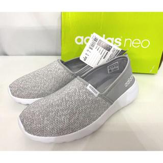 adidas - アディダス レディース スリッポン 23.5cm グレー AW4084