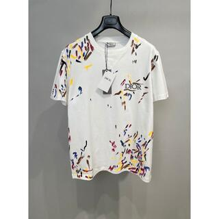 Dior - Dior▼ペイント柄 DIOR オーバーサイズ Tシャツ