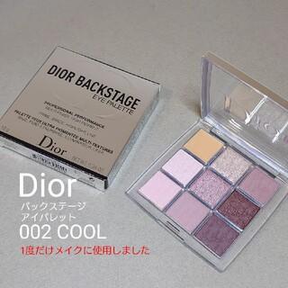 Christian Dior - Dior 002 クール ディオールバックステージ アイパレット