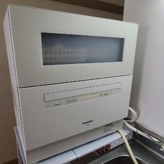 パナソニック(Panasonic)のパナソニック 乾燥付食洗機 NP-TH3-W(食器洗い機/乾燥機)