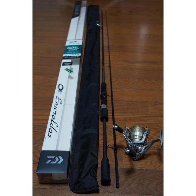 DAIWA(ダイワ)のDaiwa エメラルダス [EME MX 86ML SHORE] エギングセット スポーツ/アウトドアのフィッシング(ロッド)の商品写真
