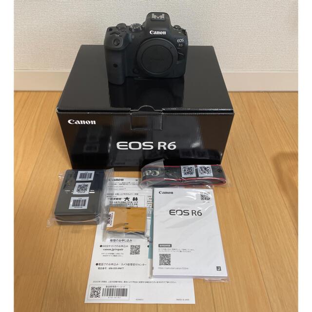 Canon(キヤノン)のCanon EOS R6 備品類未開封 スマホ/家電/カメラのカメラ(デジタル一眼)の商品写真
