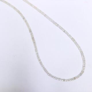 SILVER925 ネックレス ホワイトサファイア 40cm  AANI アニ