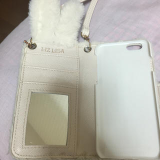 dea0f3b636 リズリサ(LIZ LISA)のリズリサ、うさぎさんiPhone6ケース、もこもこ(モバイル