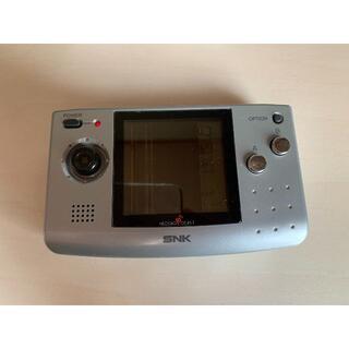 エスエヌケイ(SNK)のネオジオポケット ジャンク(携帯用ゲーム機本体)