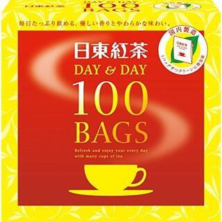 デイアンドデイティーバッグ 100枚 /日東紅茶(2箱)(その他)