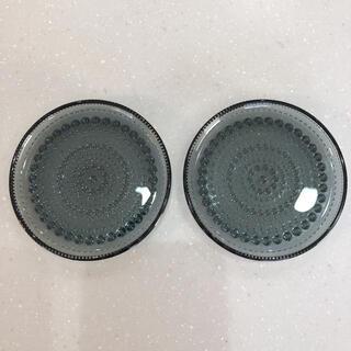 イッタラ(iittala)のイッタラ カステヘルミ 10センチ プレート グレー 2枚セット スコープ(食器)