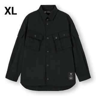 ジーユー(GU)のGU UNDERCOVER  ミリタリージャケット オーバーサイズ ブルゾン シ(ミリタリージャケット)