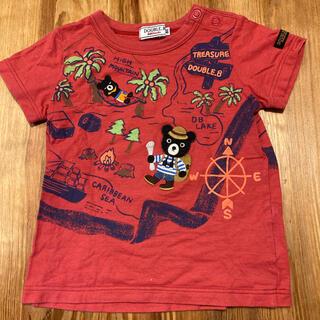 ダブルビー(DOUBLE.B)のダブルビー トレジャーハンターTシャツ 80(Tシャツ)