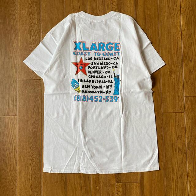 XLARGE(エクストララージ)のXLARGE アイスクリームTシャツ メンズのトップス(Tシャツ/カットソー(半袖/袖なし))の商品写真