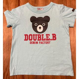 DOUBLE.B - ダブルビー Tシャツ 100