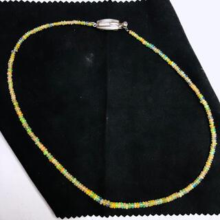 SILVER925  ネックレス  オパール  40cm  AANI アニ(ネックレス)