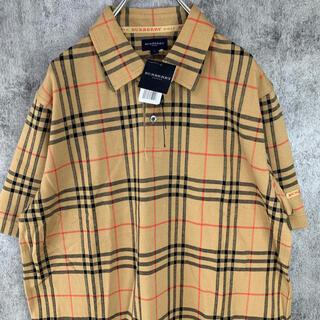 BURBERRY - 新品 タグ付き 未使用品 BURBERRY バーバリー GOLF  ポロシャツ