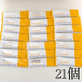 CLINIQUE - 【新品】クリニーク フレッシュプレストCパウダークレンザー 21個