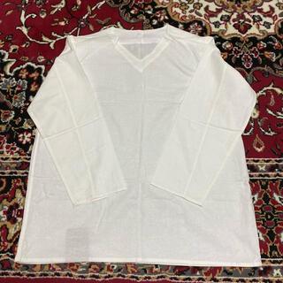 マルタンマルジェラ(Maison Martin Margiela)のvintage dead stock ロシア軍 ミリタリー スリーピングシャツ(Tシャツ/カットソー(七分/長袖))