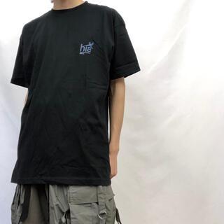 【UK label コンテンポラリープリント S/S T-shrit】ブラック