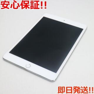 アップル(Apple)の美品 au iPad mini 4 Cellular 64GB シルバー (タブレット)