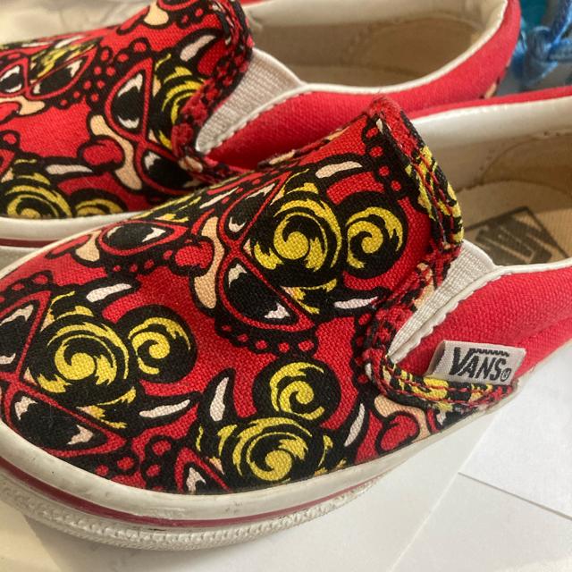 HYSTERIC MINI(ヒステリックミニ)のヒスミニ コラボ スリッポン キッズ/ベビー/マタニティのキッズ靴/シューズ(15cm~)(スリッポン)の商品写真