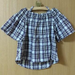 チャオパニックティピー(CIAOPANIC TYPY)のオフショルシャツ(Tシャツ/カットソー)