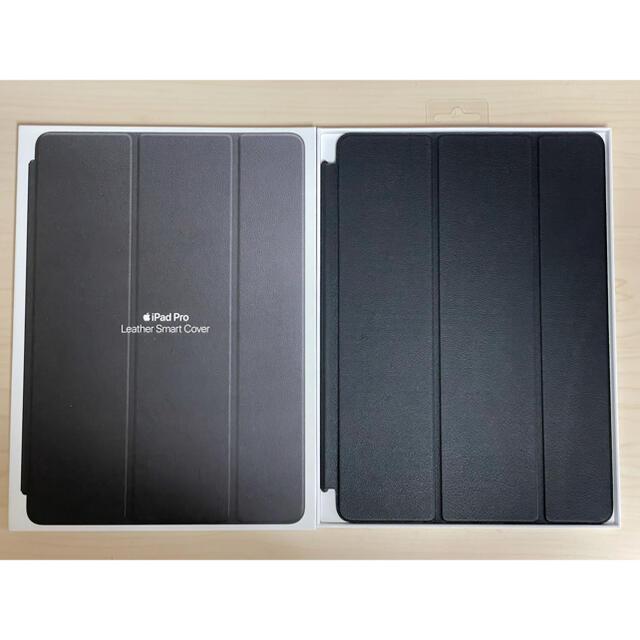 iPad(アイパッド)のApple iPad Pro 10.5インチ用 レザー スマートカバー ブラック スマホ/家電/カメラのスマホアクセサリー(iPadケース)の商品写真