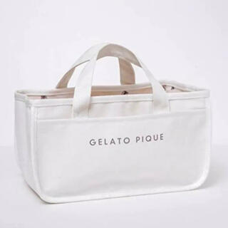 gelato pique - あつ森 ジェラートピケ 収納トートバッグ