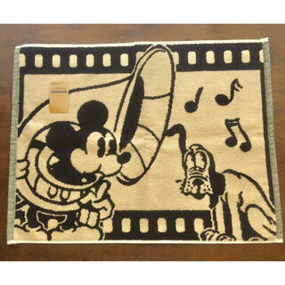 ディズニー(Disney)の【先着1名様限定 ★新品未使用】ミッキー&プルートバスマット(タオル/バス用品)