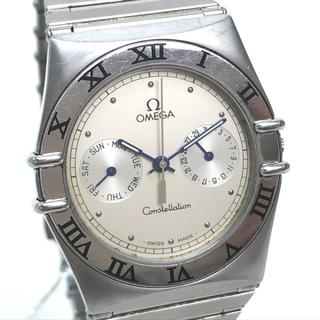 オメガ(OMEGA)のオメガ 53514854 コンステレーション クォーツ メンズ腕時計 シルバー(腕時計(アナログ))