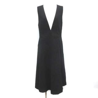 ADORE - アドーア 18AW ワンピース ジャンパースカート ウール 36 S 黒