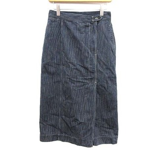 45R - 45R 45rpm 19AW スカート 麦サテンのワーク3スカート 2 M 紺
