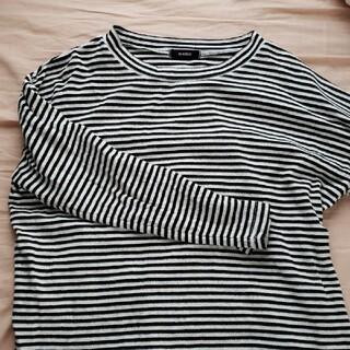 メルロー(merlot)のMerlot 長袖 ボーダー(Tシャツ(長袖/七分))