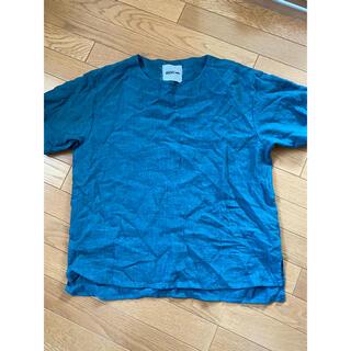 イサムカタヤマバックラッシュ(ISAMUKATAYAMA BACKLASH)のbacklash リネン カットソー  strum incarnation(Tシャツ/カットソー(半袖/袖なし))