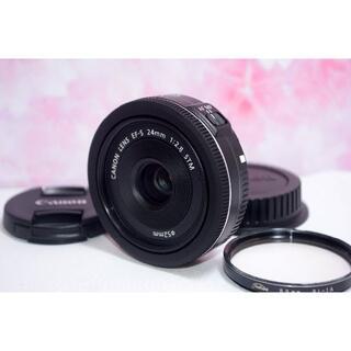 キヤノン(Canon)のパンケーキレンズ♥️Canon EF-S 24mm f/2.8 STM キャノン(レンズ(単焦点))
