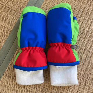 ベビー用スノー手袋☆2.3歳用☆離れ離れ防止クリップ付☆送料込み(手袋)