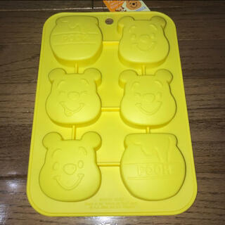 クマノプーサン(くまのプーさん)のディズニー くまのプーさん シリコンモールド(調理道具/製菓道具)