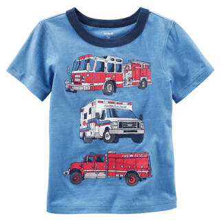 カーターズ(carter's)のカーターズ 働く車 半袖Tシャツ(Tシャツ)