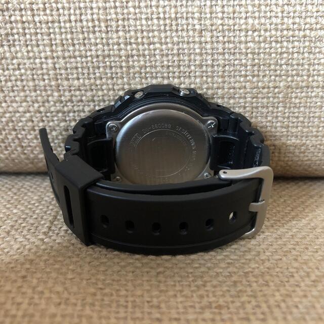 G-SHOCK(ジーショック)のカシオ Gショック G-SHOCK DW-5600BB-1JF ブラック メンズの時計(腕時計(デジタル))の商品写真