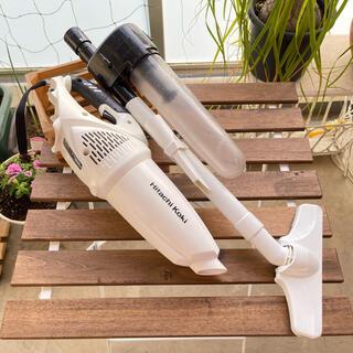 ヒタチ(日立)の日立工機 コードレスクリーナー R18DSAL(NN) 自作サイクロン(掃除機)