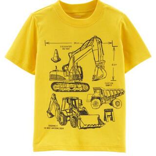 カーターズ(carter's)のカーターズ 働く車 半袖Tシャツ イエロー(Tシャツ/カットソー)