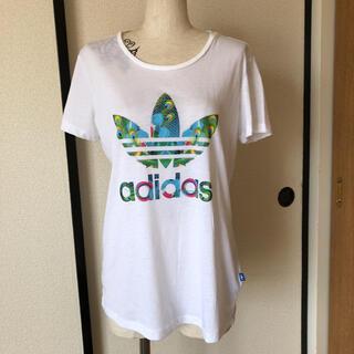 アディダス(adidas)のアディダスレディースTシャツ(Tシャツ(半袖/袖なし))