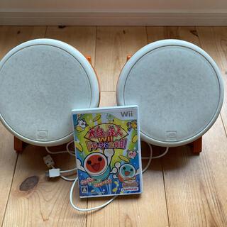 Wii - 【値下げ】太鼓の達人Wii ドドーンと2代目 タタコン2台セット