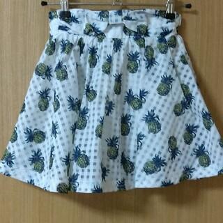エフオーキッズ(F.O.KIDS)のインナー付きスカート(スカート)
