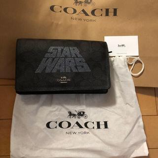 COACH - 新品 コーチ スターウォーズ クロスボディバッグ クラッチ COACH